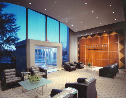 Ethicon Somerville, N.J. Corporate Lobby Renovation 4,000 SF